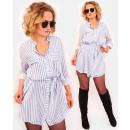 A1021 póló női ruha, karcsúsító tunika