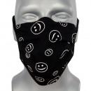 Schutzmaske, Lächeln, Radiergummi