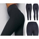 Women's Leggings, Sporty S-XL, Black, C17734