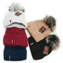 wholesale Headgear: Warm Womens Cap,Hat, Pompon and Fleece, 5100
