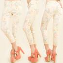 ingrosso Jeans: B16486 PANTALONI  3/4 , JEANS, SLIM LINE, modello d