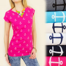 wholesale Fashion & Mode: G158 grateful  BLOUSE, TOP, PLAYFULLY ANCHORS