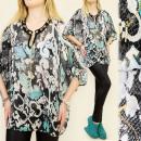 groothandel Kleding & Fashion: A1909 EFFECTIEVE TUNIEK, KIMONO, GOUDEN HALSBAND