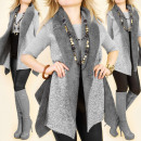 wholesale Coats & Jackets: C24144 Beautiful Warm, Double Sided Waistcoat, Fur
