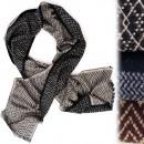 Großhandel Tücher & Schals: B10A58 Eleganter Herren Schal, Klassisches Muster