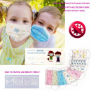 Großhandel Kinder- und Babyausstattung: Kinderschutzmaske, Einweg, D5890