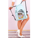 wholesale Bags & Travel accessories: T60 Charming Women Backpack, Sack, Funny Owles