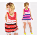 Großhandel Kleider: D1462 Strand, Sommerkleid, luftige Tunika
