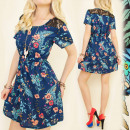 C17124 Trendy, Girly Dress, Impresionante encaje