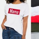 groothandel Kleding & Fashion: Dames overhemd, T-Shirt , MAMA, M-XL, Mix, N115