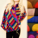 wholesale Scarves & Shawls: C17302 Soft Scarf, Chimney, Colorful Wheels