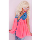 BB188 Wonderful Summer Tunic, Pastel Colors