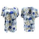 Dames shirt, blouse, grote maten, L-4XL wielen, 54