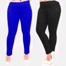 Großhandel Hosen: C17638 Komfortable Damenhose, Große Größe, Farben