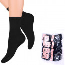 wholesale Stockings & Socks: Womens Socks, cotton, Classic Black 35-41, 5075