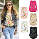 wholesale Fashion & Apparel: AW059 Classic,  Loose Blouse,  Floral Pattern ...