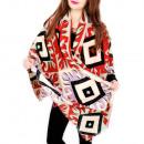 ingrosso Ingrosso Abbigliamento & Accessori: B10A31 Sciarpa impressionante, scialle, modello Et
