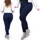 B16635 Women's Jeans, Large Sizes, Classic Nav