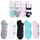 H108 Sneaker Ladies socks, feets, diamonds pattern