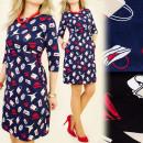 BI152 vestido encantador, ADMINÍCULO las mujeres d