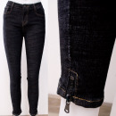 B16841 Classic Women Pants, Jeans with Sliders