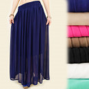 wholesale Skirts: A1916 ELEGANT  SKIRT WITH WHEELS, MAXI WAVES