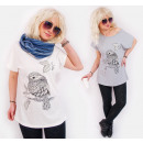 Großhandel Fashion & Accessoires: N018  Baumwollbluse,  Top, Plus Größe, ...