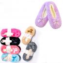 Großhandel Schuhe: Velour Womens Slippers, Ballerinas, 35-42, ...