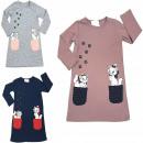 grossiste Vetement et accessoires: Robe pour filles, chatons, 3-6 ans, 6141