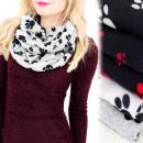 Großhandel Fashion & Accessoires: A1212 Loose Scarf Typ Schornstein, Hund Pfoten