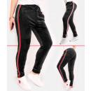 Großhandel Sport & Freizeit: C17534 Damen Sweatpants, Hosen, Trendy Velour