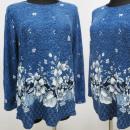 wholesale Shirts & Blouses: K2708 Warm Blouse, Large Size L-4XL, Designs