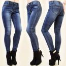 wholesale Jeanswear: B16434 ELEGANT,  CLASSIC PANTS JEANS, STREAKS