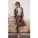 Großhandel Hosen: B16696 Frauen lose Hosen Jeans, Löcher, Baggy
