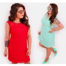 wholesale Dresses: BI732 Women, Lace  Dress, Neckline With Heart shape
