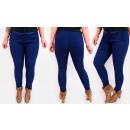A19103 Frauen Hosen Jeans, Plus Size bis 58