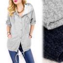 ingrosso Ingrosso Abbigliamento & Accessori: C24185 fatta in  Italia - Felpa con cappuccio, copr