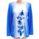 Großhandel Fashion & Accessoires: Damenbluse, lose Tunika, L - 3XL, 5218