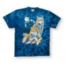 T-Shirt , batik wolves