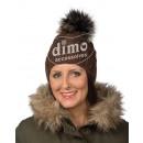 """Großhandel Kopfbedeckung: Mütze Damen Strick  mit Pompon Modell """"Greta"""""""