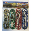 wholesale Car accessories: Rubber luggage rope 90 cm 4 pcs