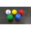 Keychain anti-stress ball