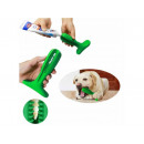 Teether toothbrush for dogs