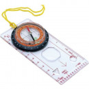 Compass for reading and marking maps