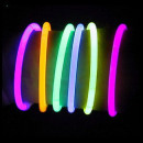 Chemical light, neon bracelets