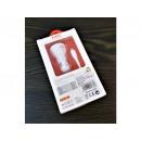 QC 12W / 7A 3xUSB car charger + cable