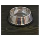 Anti-slip steel dog bowl 20x26cm
