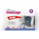 Massage mat on the back of the seat 50x35cm