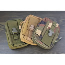 Men's military belt bag