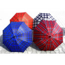 wholesale Umbrellas: Umbrella long automatic grille